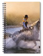 Dawn's Misty Waters Spiral Notebook