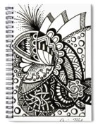 Day 14 - Costume Party Spiral Notebook