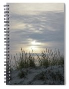 Day Fades Behind The Dunes Spiral Notebook