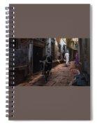 Day In Varanasi Spiral Notebook