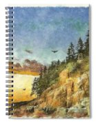 Day Is Done 2015 Spiral Notebook