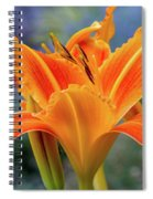 Day Lily Bright Spiral Notebook