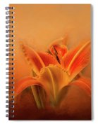 Day Lily Emerging Spiral Notebook
