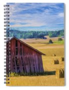Day Of August Spiral Notebook