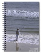 Day Of Ocean Fishing Spiral Notebook