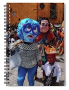 Day Of The Crazies 2017 Spiral Notebook
