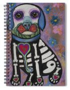 Day Of The Dead Hudson Spiral Notebook