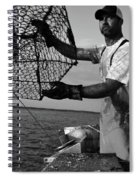 Day On The Water Spiral Notebook