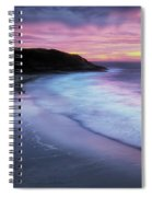 Daybreak At Caswell Bay Spiral Notebook
