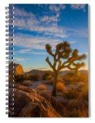 Daybreak At Joshua Spiral Notebook