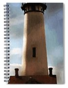 Daybreak At Pigeon Point Spiral Notebook
