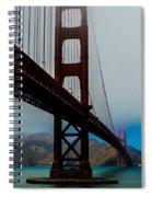 Daybreak At The Golden Gate Spiral Notebook