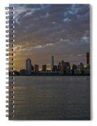 Daybreak In Manahattan Spiral Notebook