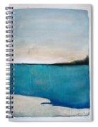 Daybreak On The Beach Spiral Notebook