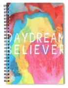 Daydream Believer- Abstract Art By Linda Woods Spiral Notebook