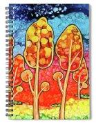 Daydream Park Spiral Notebook