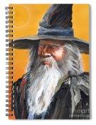 Daydream Wizard Spiral Notebook