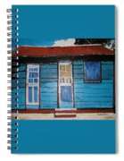 Daydreaming Blues Spiral Notebook