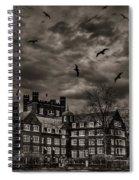 Daydreams Darken Into Nightmares Spiral Notebook