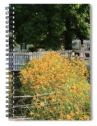 Daylilies In The Spring Spiral Notebook