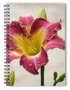 Daylily Delight Spiral Notebook