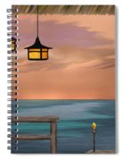 Days End Spiral Notebook