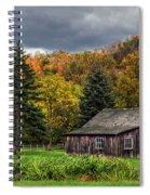 Days Gone By Spiral Notebook