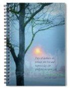 Days Of Darkness Spiral Notebook