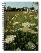 Days Of Queen Annes Lace Spiral Notebook