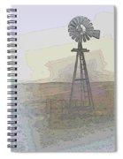 Days Of Wind Spiral Notebook
