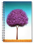 Days To Call On Spiral Notebook