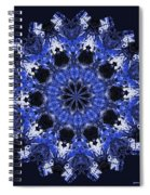 Days Will Pass Mandala Spiral Notebook