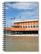 Daytona Beach Pier Spiral Notebook