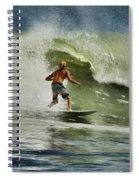 Daytona Beach Surfing Day Spiral Notebook