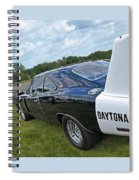 Daytona Charger Spiral Notebook
