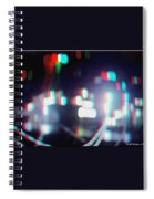 Dc Lights - Use Red-cyan 3d Glasses Spiral Notebook