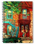 De Bullion Street Girls Spiral Notebook