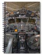 De Havilland Dh106 Comet 4 G Apdb Cockpit Full Size Poster Spiral Notebook