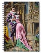De Soto & Isabella, 1539 Spiral Notebook