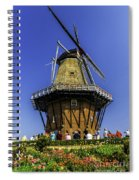 De Zwaan Windmill In Holland Spiral Notebook