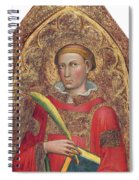 Deacon Saint, With Saint Anthony Abbot Spiral Notebook