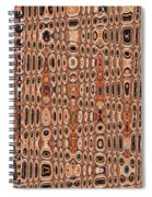 Dead Agave Stump Abstract Spiral Notebook