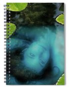 Dead Girl In The Pool Spiral Notebook