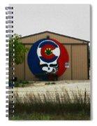 Dead Heads In Colorado Spiral Notebook