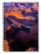 Dead Horse Point Sunrise  Spiral Notebook