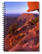 Dead Horse Point Sunset Spiral Notebook