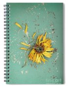 Dead Suflower Spiral Notebook