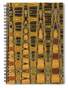 Dead Tree Abstract Spiral Notebook