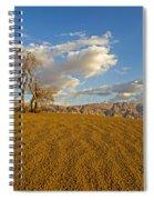 Dead Tree In The Desert  Spiral Notebook