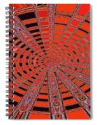 Dead Tree Oval #1 Abstract Spiral Notebook
